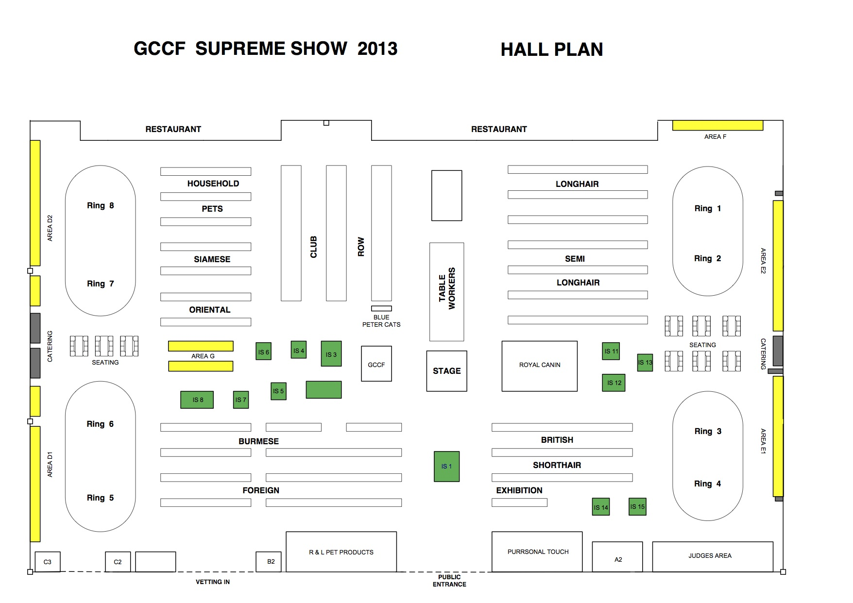 SUPREME HALL PLAN 2013